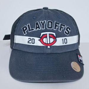 Minnesota Twins 2010 Playoff Baseball Cap